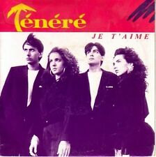 "7"" 45 TOURS FRANCE TENERE ""Je T'aime"" 1988 POP"