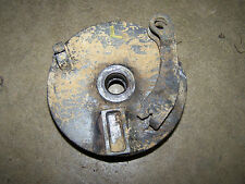 polaris cyclone trail boss 87 88 front brake backing plate left 1987 250 86