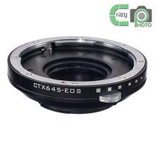 Contax 645 Lens to Canon EF Mount Adapter Adjust Aperture 80D 750D 7D II 5DS