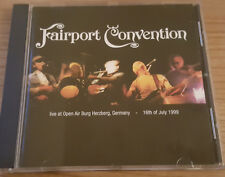 CD Fairport Convention live at Open Air Burg Herzberg, Germany 16th of July 1999