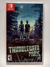 THIMBLEWEED PARK Nintendo SWITCH Limited Run Games #001 LRG 1 Lot Region Free