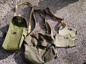 WW2 US Army bags etc