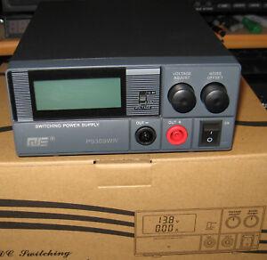 QJE 30 Amp PS-30SWIV 30 Amp Switch Mode PSU DC Power Supply Unit LCD DISPLAY