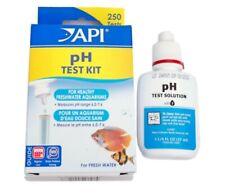 New listing Api pH Test Kit Individual Measures Fish Freshwater Tank Aquarium Weekly Monitor