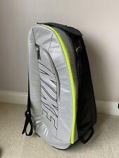 Nike Court Tech 1 Silver Black Tennis Backpack