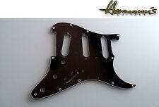 Schlagbrett, US Pickguard für Stratocaster Guitars, Black, 11 Lochbohrungen SSS