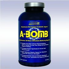 MHP A-BOMB (224 TABLETS) maximum strength anabolic anti-catabolic muscle builder