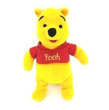 "Disney Winnie the Pooh Plush Bear 10"" Red Shirt Stuffed Animal"