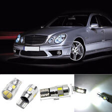 2X 6000K White  W5W 194 168 LED Lights CANbus Error Free W211 Parking Lamp Bulbs