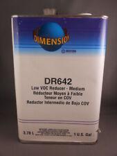 Western Dimension DR642 Low VOC Reducer MEDIUM Automotive Paint 1 Gallon