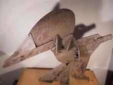 Design XXème Sculpture Vintage Brutaliste Moderniste Art Brut Aigle acier