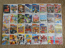 Nintendo Wii Games! You Choose from Large Selection! $5.95 Each!