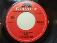 "Diana – I'd Do It All Again 1970 7"" Polydor 2058-016"