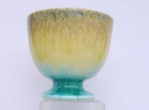 Ruskin Pedestal Crystalline Vase