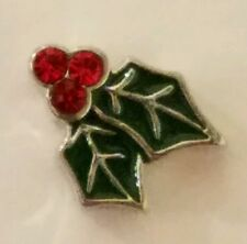 Christmas Sparkle Charm Origami Owl Holly