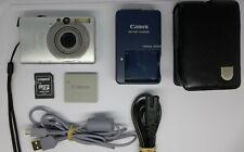 Canon IXUS 80 IS 8.0MP Digital Camera - Silver 2 GB Memory card + Camera Case