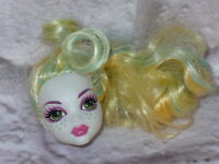 Mattel Monster High Doll LAGOONA BLUE Replacement HEAD ONLY for OOAK/Custom