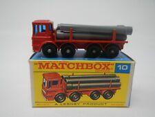 Matchbox Series Pipe Truck MB10