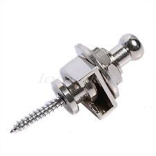 1 pcs Chrome Metal Schaller-Style Strap Lock For Guitar Bass Round Head