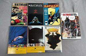 Batman Graphic Novel Lot TPB HC & Deluxe Dark Knight Returns Tales of Demon OOP