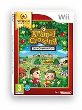 ANIMAL CROSSING LET'S GO TO THE CITY JEU Wii NEUF VERSION FRANCAISE