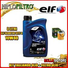 KIT TAGLIANDO 3LT OLIO ELF CITY 10W40 KTM 400 EXC 2nd Oil 400CC 2006-2007 + FILT