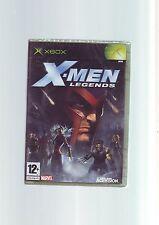 X-Men Legends 1-ORIGINAL XBOX GAME/360 Compatible-Rapide Post-New & Sealed