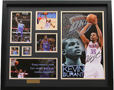 New Kevin Durant Signed Oklahoma City Thunder Limited Edition Memorabilia