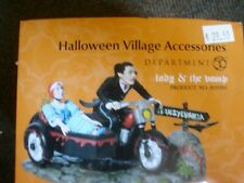 """Dept 56 Halloween Accessories """"Lady and the Vamp"""""""