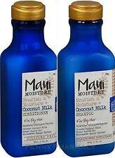 Maui Moisture COCONUT Milk Shampoo & Conditioner COMBO for Dry Hair 13oz ea