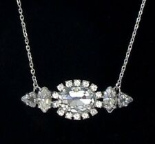 Juicy Couture Gifting 'Punk Rocks' Oval Stationed Rhinestone Pendant Necklace