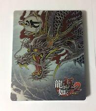 NEW Bonus Special Steel Book Case of Ryu ga Gotoku Kiwami 2 JAPAN import
