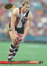 Afl 1994 TONY LOCKETT SELECT GoldSeries Common  EXCELLENT CONDITION #162 RARE