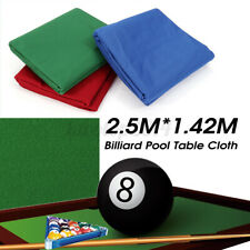 US Professional Billiard Cloth Worsted Felt Mat Cover For Most 7/8ft Tables Pool