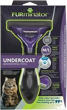 Furminator Undercoat Brush Detangling Removes Hair Cats Large Hair Long