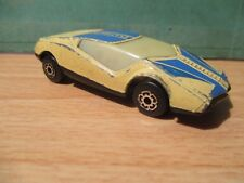 ~ Datsun Super GT 126X BR 5/6 ~ Matchbox ~ 1985 ~ Cream & Blue ~