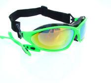 Occhiali e monolente da ciclismo plastici unisex adulti verdi