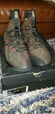 NIKE LEBRON XV 15 LMTD LIMITED BLACK HISTORY MONTH BHM RED GREEN 897650-900 12