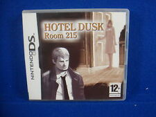 ds HOTEL DUSK Room 215 Game RARE Lite DSI 3DS Nintendo PAL