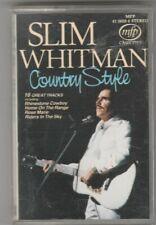 SLIM WHITMAN Cassette Album - COUNTRY STYLE
