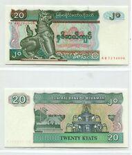 Myanmar Burma 1994 20 Kyats | Uncirculated Banknote | UNC