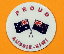 PROUD AUSSIE - KIWI FRIDGE MAGNET AUSTRALIAN SOUVENIR GIFT NEW ZEALAND