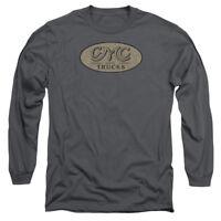 GMC VINTAGE OVAL LOGO Licensed Adult Long Sleeve T-Shirt S-3XL
