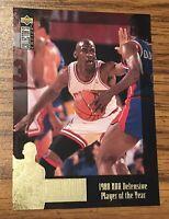 MICHAEL JORDAN - 1995 Upper Deck Collector's Choice JC3 NBA-Chicago Bulls-HOF
