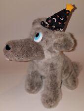 Howl-O-Ween Cosmic Wolf Plush Gray Stuffed Animal Fiesta Toy Halloween Hat