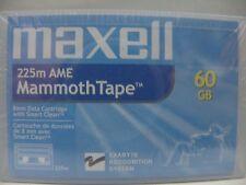 MAXELL 225m AME MammothTape 8mm 60GB Data Cartridge Exabyte Technology NEW