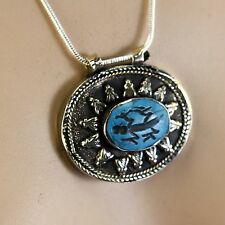 BellyDance ATS tribal PENDANT (Chain not included) Afghani Kuchi 731k6