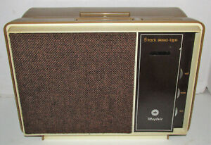 Mayfair 8 Track Tape Stereo Player Model 444