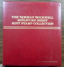 Worldwide Norman Rockwell Stamp Sheet Collection Of 44 Sheets Mnh By Pcs