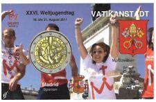 Infokarte Vatikan 2011 Weltjugendtag Madrid